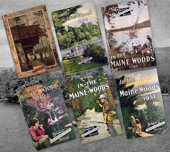 Uncle Bert's Maine Woods Photographs and Stories